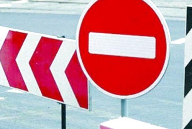 У неділю в Івано-Франківську на декількох вулицях перекриють рух транспорту (схема)