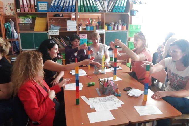 У серпні вчителі Житомирщини гратимуть LEGO