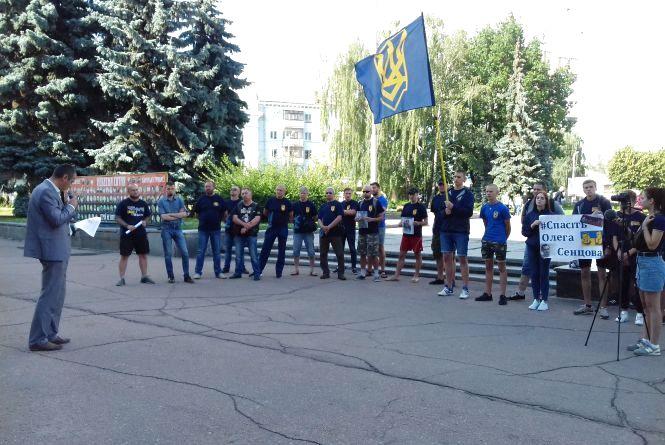 Житомиряни приєдналися до всеукраїнської акції «Свободу полоненим»