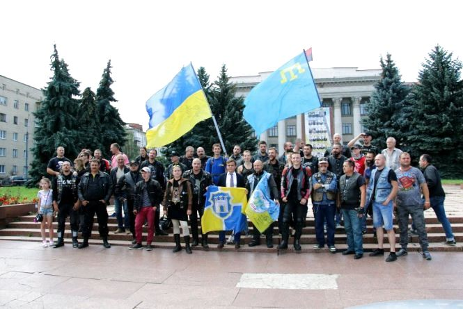У Житомир приїхали учасники пробігу «За єдність»