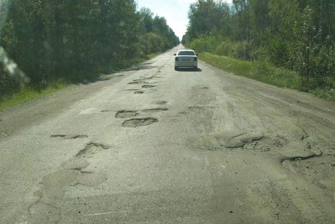 У мережі скаржаться на жахливий стан дороги Новоград-Волинський - Коростень