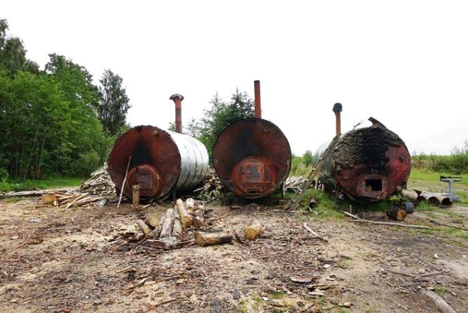 На Житомирщині продовжують перевіряти легальність підприємницької діяльності з випалювання вугілля