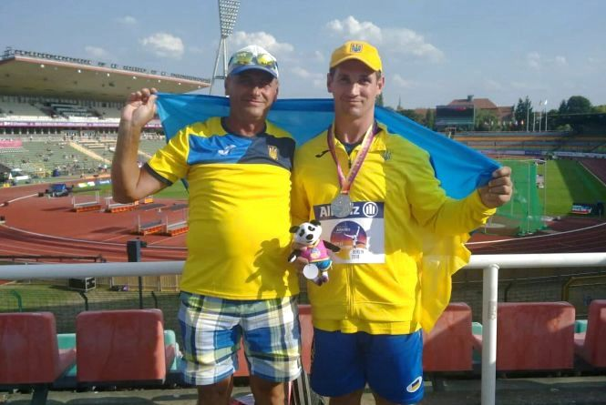 Житомирський легкоатлет-паралімпієць - срібний призер континентальної першості