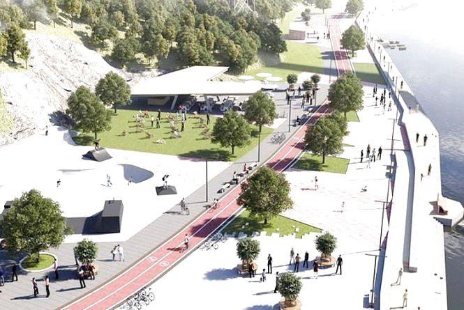 На березі Тетерева з'явиться масштабна і сучасна спортивно-відпочинкова зона