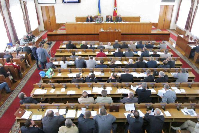 Сьогодні на позачерговій сесії обласної ради депутати розглянуть 30 питань