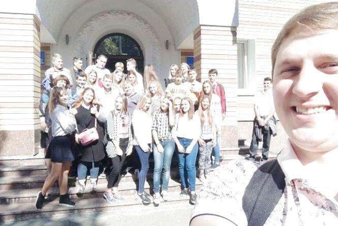 Школярі із Семенівської ОТГ переймали досвід учнівського самоврядування у школах Житомира