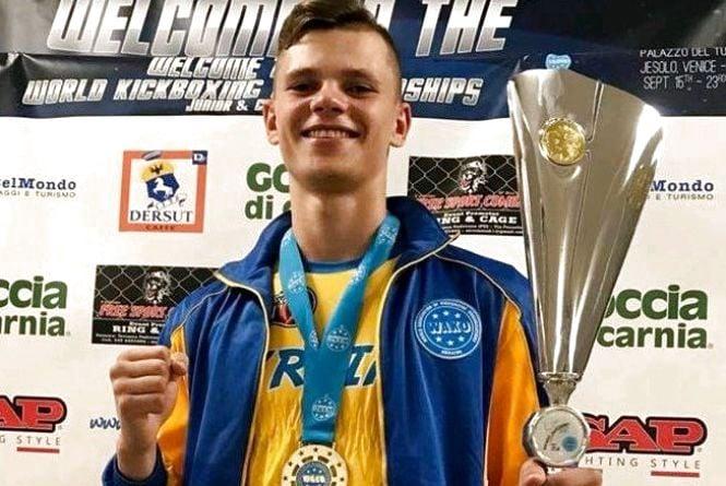 Житомирянин Артем «АЛАБАЙ» Мельник виграв чемпіонат світуз кікбоксингу WАKО