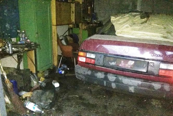 Житомирська область: ліквідовано пожежу в гаражах