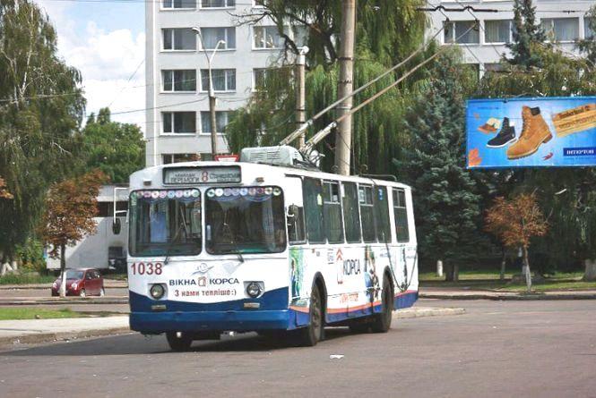 Вартість проїзду в житомирських тролейбусах та маршрутках зросте