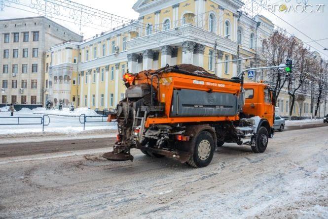 Чи готові в Житомирі до раптового снігопаду та не вчинить це екологічну катастрофу?