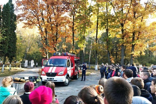 Житомирські школярі опановували рятувальну справу