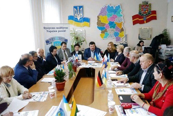 Рада національних спільнот України планує створити свій осередок на Житомирщині
