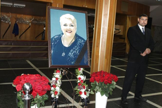 Житомир в скорботі: прощання з Мариною Поплавською. ФОТО