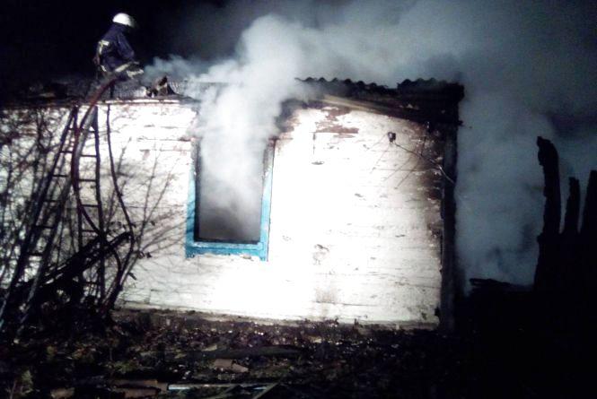 У Лугинському районі на пожежі загинули двоє людей