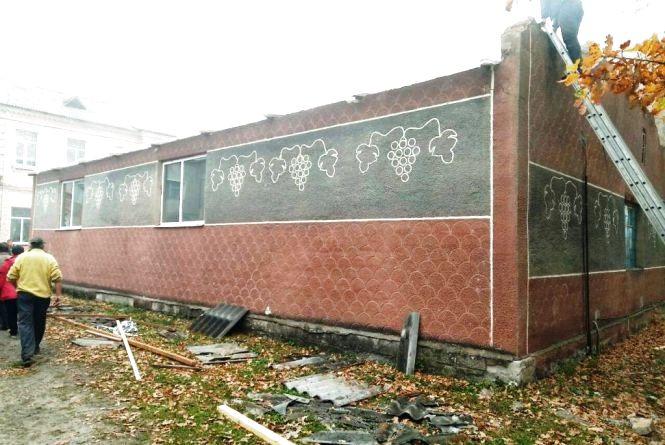 У Мирополі горіла шкільна їдальня