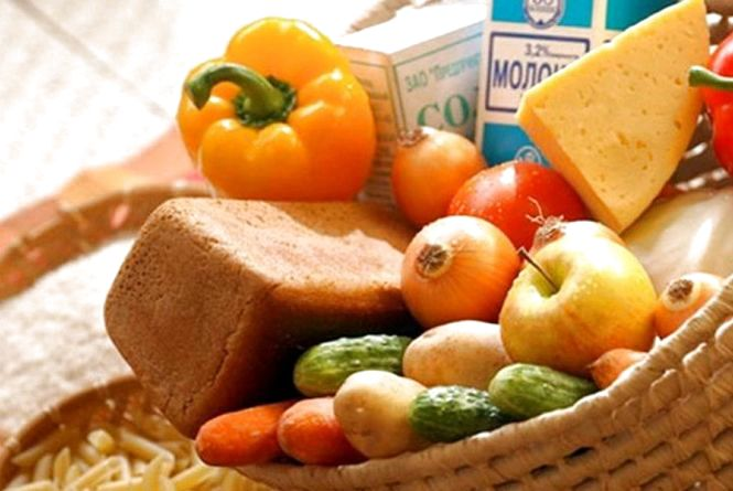 У житомирян - один з  найдешевших соціальних продуктових кошиків
