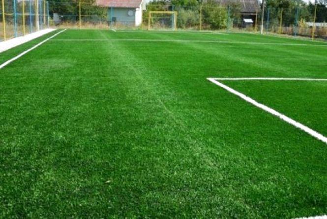 На Житомирщині цьогоріч вже збудували 9 футбольних майданчиків зі штучним покриттям