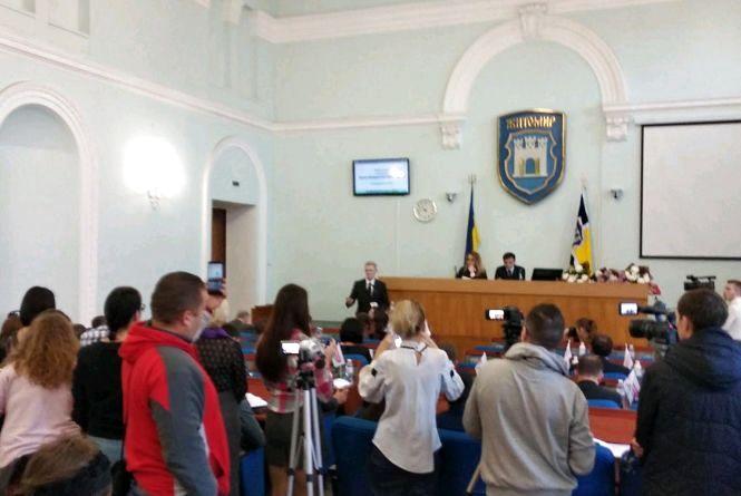 На сесії представили нового депутата міськради