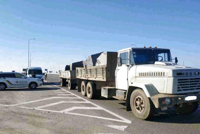 Перевізники-порушники сплатять 1614 євро штрафів за порушення норм вантажоперевезення