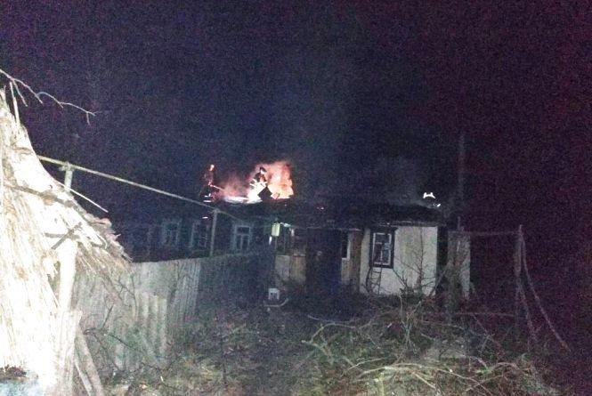Через коротке замикання згорів дах приватного будинку