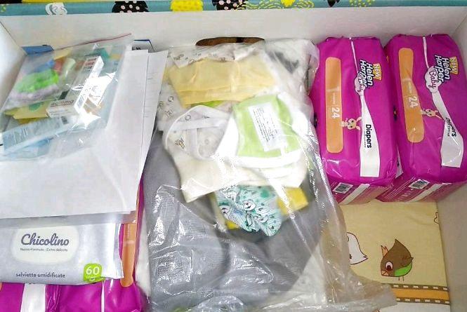Молоді батьки задоволені якістю пакунків малюка