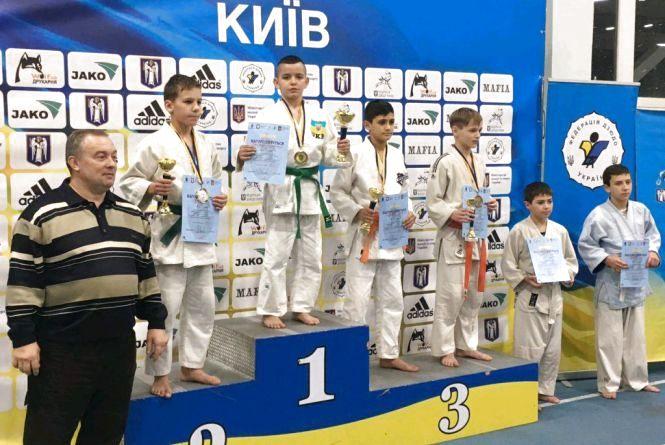 Житомиряни зібрали повний комплект нагород на Всеукраїнському турнірі з дзюдо в Києві