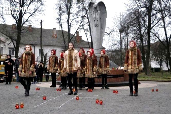 У Житомирі вшанують жертв голодоморів біля пам'ятника «Сумуючий Янгол»