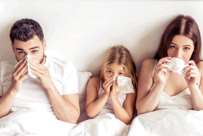 Захворюваність на грип та ГРВІ зростає