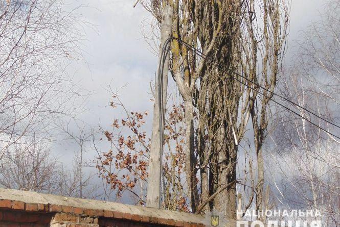 """На Черняхівщині """"на гарячому"""" упіймали крадіїв кабелю"""