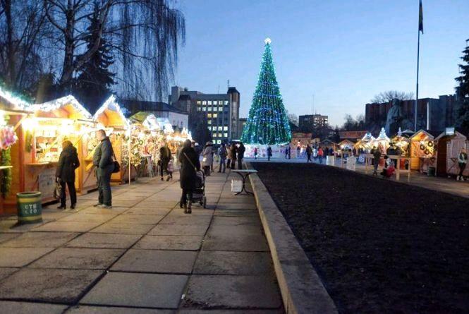 Міська влада затвердила план святкування Нового року і Різдва
