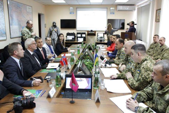 Житомирський прикордонний загін отримав міжнародну технічну допомогу від Королівства Норвегія на понад 6,5 млн. гривен