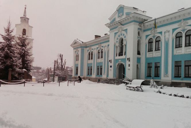 Зимовий Житомир. Фоторепортаж