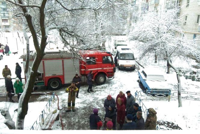 Пожежа у коростенській багатоповерхівці: загинула дитина
