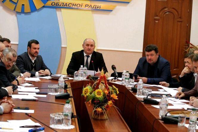 На 20-й сесії обласної ради розглянуть майже 70 питань та приймуть бюджет на 2019 рік