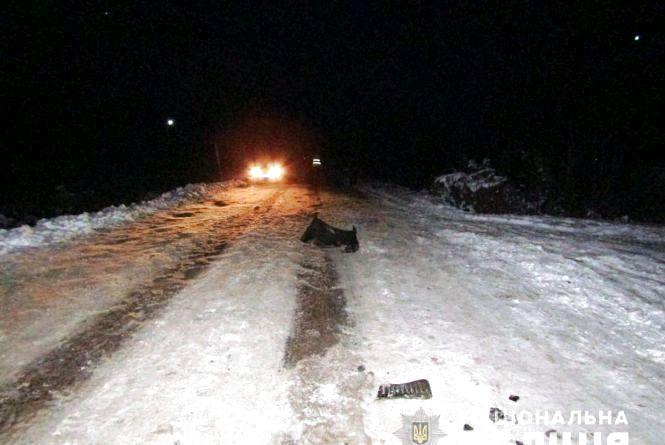 Водію, який залишив місце ДТП, смертельно травмувавши пішохода, оголошено про підозру