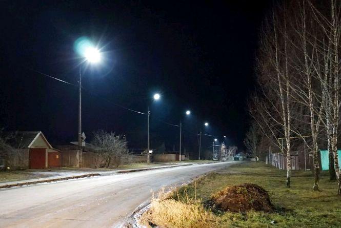 52 села на Житомирщині у 2018 році отримали сучасне вуличне освітлення