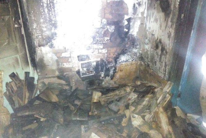 У Високій Печі згорів дерев'яний будинок, господиня загинула