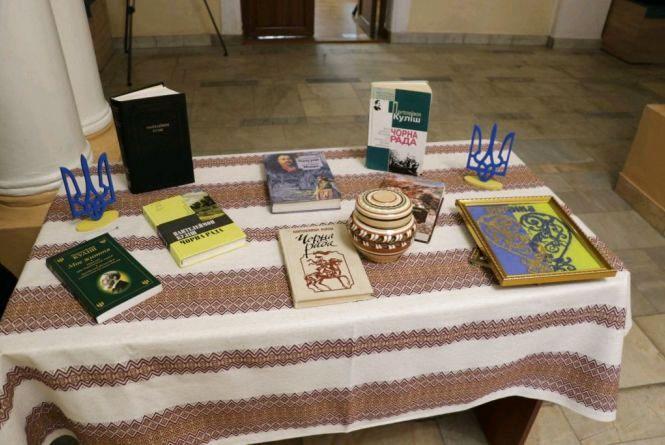 У Домі української культури в Житомирі відкрили експозицію про життя і творчість Пантелеймона Куліша