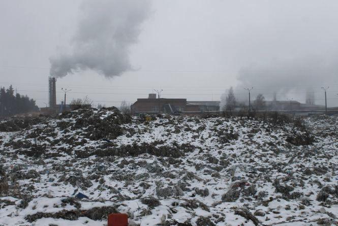 Попіл у повітрі – екологічна катастрофа в районі паперової фабрики