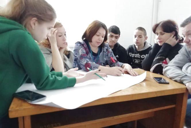 В Миропільській ОТГ молодь навчалась шукати ідеї