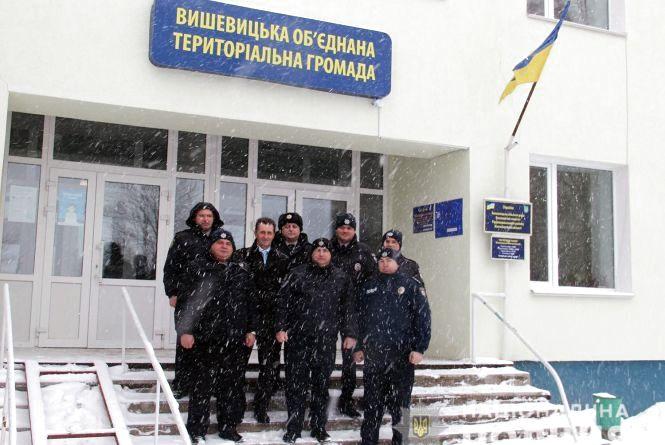 У Радомишльському районі запрацювала поліцейська станція