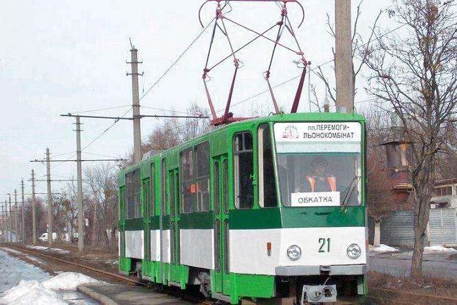 З вечора 31 січня до ранку 1 лютого у Житомирі не ходитиме трамвай