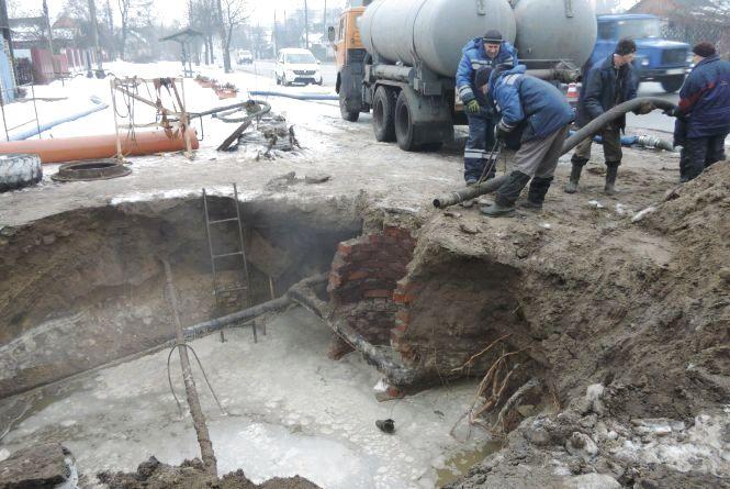 Водопостачання на Польовій відновлять не пізніше 2 лютого