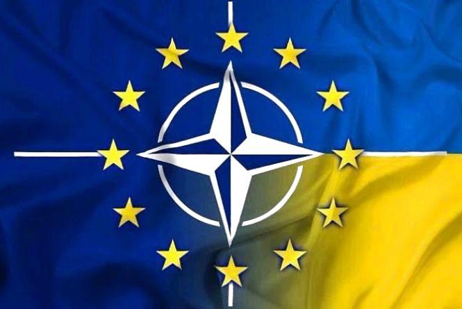 Рада закріпила у Конституції курс України на членство в ЄС і НАТО