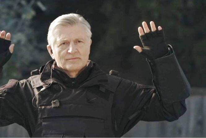 Станіслав Боклан про прем'єру серіалу на '' Інтері '': '' Мені хотілося на старості років пограти в війнушку ''