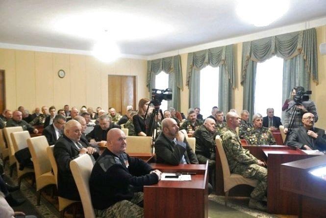 Керівництво області зустрілося із активом ветеранів Афганської війни