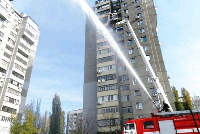 Питання протипожежного захисту будинків підвищеної поверховості у Житомирі досі не вирішене