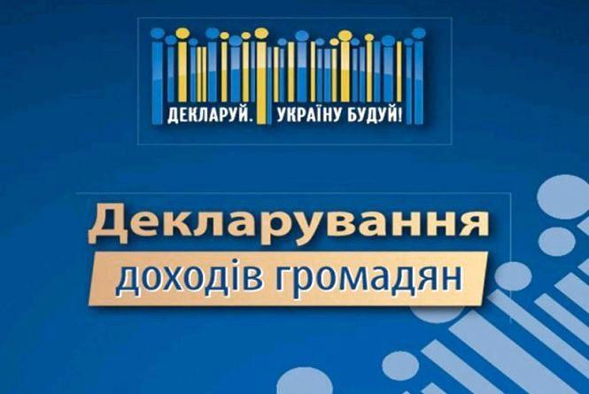 Декларація про майновий стан і доходи подаєтьсяза місцем реєстрації