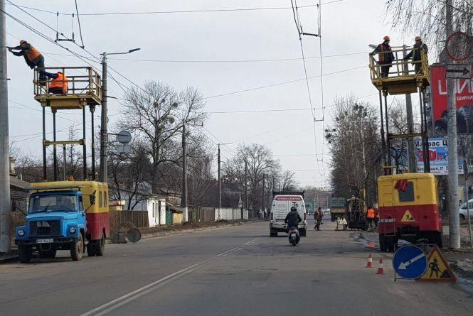 Незабаром рух тролейбусів за маршрутом №1 буде здійснюватись по кільцю