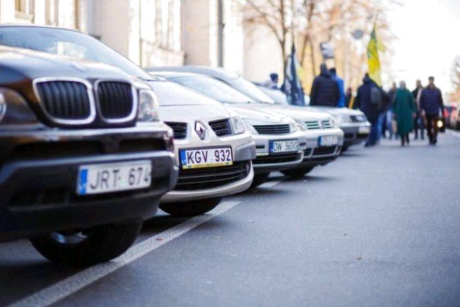 За пільговою ставкою акцизу на Житомирщині оформлено 7929 транспортних засобів з іноземною реєстрацією